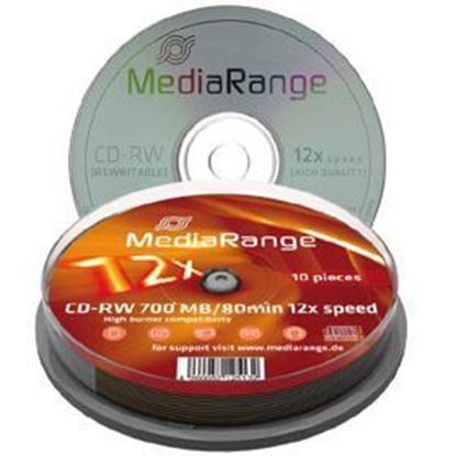 Picture of CD-RW Rewritable discs