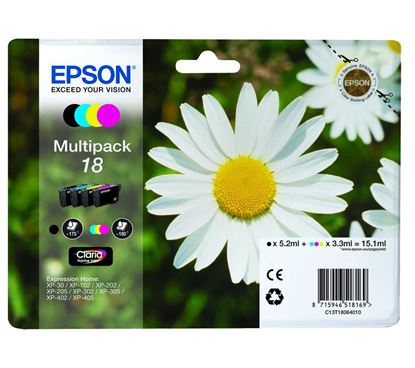 Picture of Compatible EPSON Daisy T1806 - Multipack