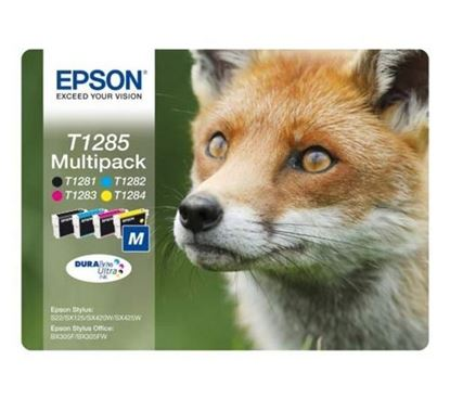 Picture of Compatible EPSON Fox T1285 - Multipack