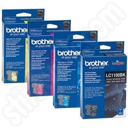 Picture of Compatible BROTHER LC980/LC1100 XL Ink - Multipack